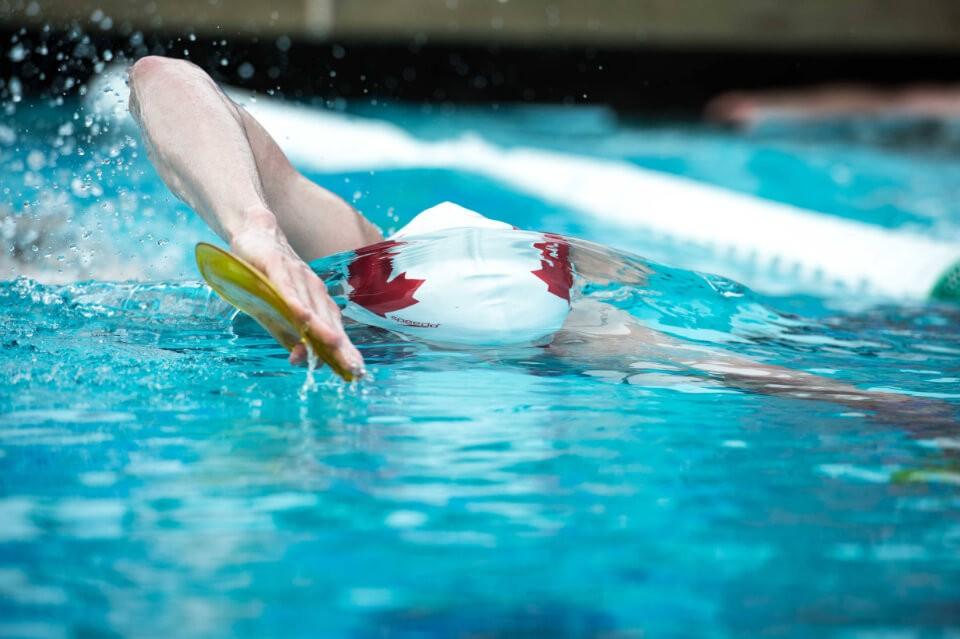 un nageur canadien représenté par nos conseillers stratégiques